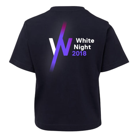 White Night Kids T-Shirt (Glow in the dark)