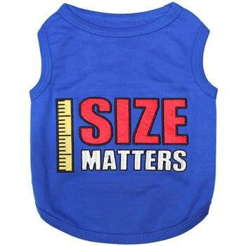 Size Matters Dog Tank by Parisian Pet-Parisian Pet-High Society Canine