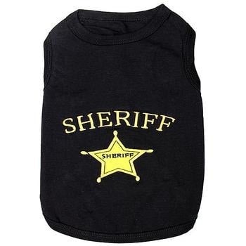 Sheriff Dog Tank by Parisian Pet-Parisian Pet-High Society Canine