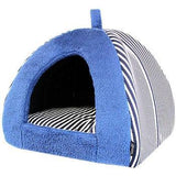 Parisian Pet Ahoy Striped Dog Cove - Blue-Parisian Pet-High Society Canine