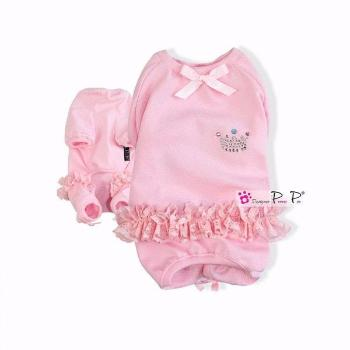 Clearance - Pretty Pet Princess Overalls (Baby Pink)-High Society Canine-High Society Canine