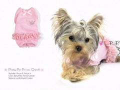 Clearance - Pretty Pet Princess Overalls (Baby Pink)