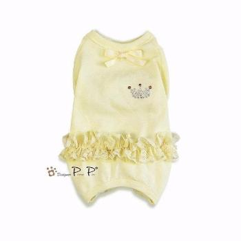 Clearance - Pretty Pet Princess Overalls (Yellow)-High Society Canine-High Society Canine