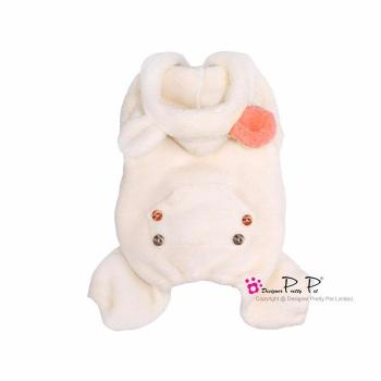 Clearance - Pretty Pet Cute Bunny Jumper (Cream)