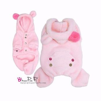 Clearance - Pretty Pet Cute Bunny Jumper (Pink)-High Society Canine-High Society Canine
