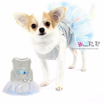 Clearance - Pretty Pet Summer Loving Dress (Blue)-High Society Canine-High Society Canine