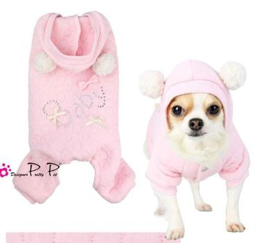 Clearance - PrettyPet Baby Jumper (Pink)-High Society Canine-High Society Canine