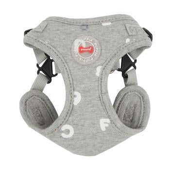 Algo Adjustable Step-In Dog Harness by Puppia - Gray-Puppia-High Society Canine