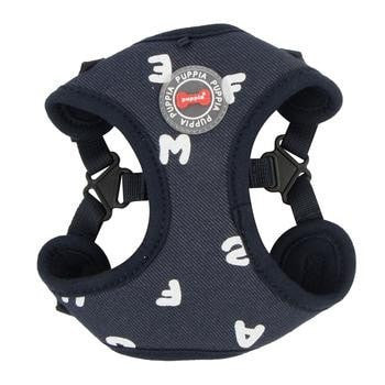 Algo Adjustable Step-In Dog Harness by Puppia - Navy-Puppia-High Society Canine