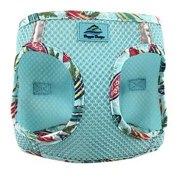 American River Hawaiian Trim Choke-Free Dog Harness by Doggie Design - Aruba Blue-Doggie Design-High Society Canine