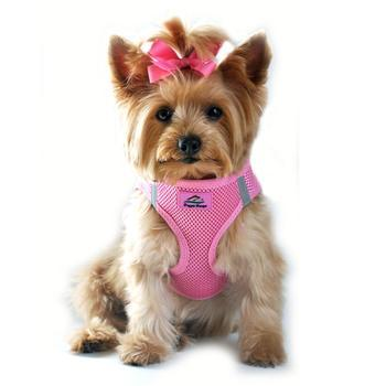 American River Ultra Choke-Free Mesh Dog Harness by Doggie Design - Candy Pink-Doggie Design-High Society Canine