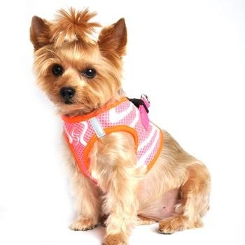 American River Neon Sport Choke-Free Dog Harness - Iridescent Pink-Doggie Design-High Society Canine