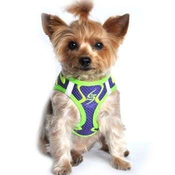 American River Neon Sport Choke-Free Dog Harness - Ultra Violet-Doggie Design-High Society Canine