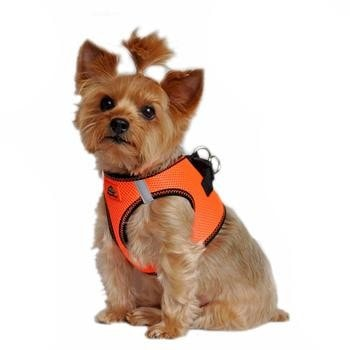 American River Top Stitch Dog Harness - Iridescent Orange-Doggie Design-High Society Canine