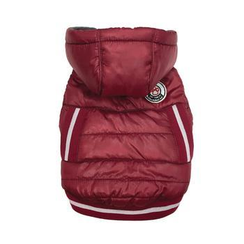 Arctic Tek Dog Parka by foufou Dog - Red-foufou Dog-High Society Canine