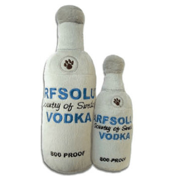 Arfsolut Vodka Plush Dog Toy-Haute Diggity Dog-High Society Canine