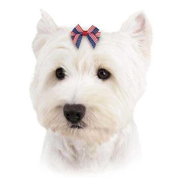 Aria Americas Pup Dog Bow - Accessories - Aria - High Society Canine LLC - 1