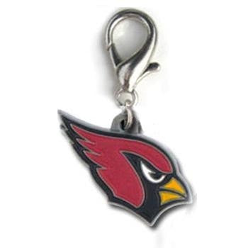 Arizona Cardinals Logo Dog Collar Charm