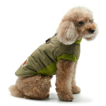 Army Runner Dog Coat by Dogo - Green-DOGO-High Society Canine