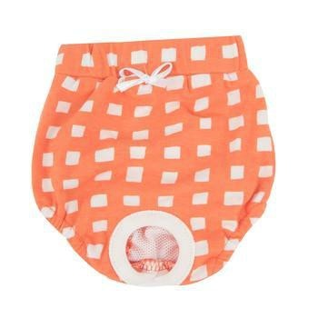 Ava Dog Sanitary Panty by Puppia - Orange-Puppia-High Society Canine
