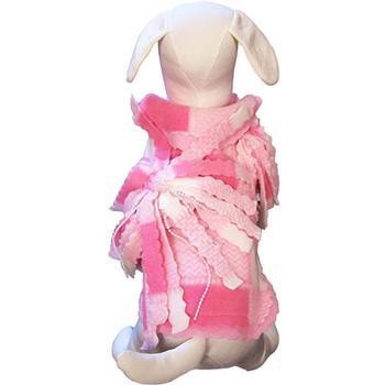 Baby Girl Fleece Dog Jacket by Cha-Cha Couture