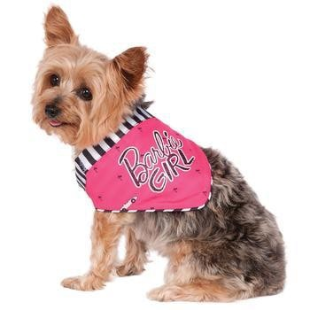Barbie Girl Dog Bandana-Rubies Costumes-High Society Canine