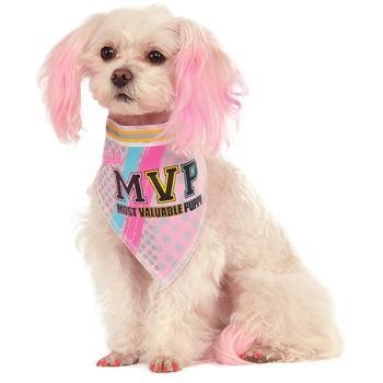 Barbie Sporty Girl Reversible Dog Bandana-Rubies Costumes-High Society Canine