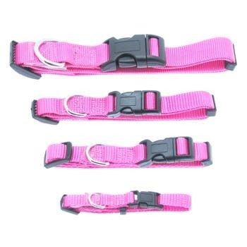Barking Basics Dog Collar - Pink-Barking Basics-High Society Canine
