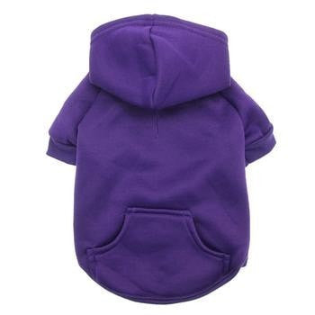 Barking Basics Dog Hoodie - Purple-Barking Basics-High Society Canine
