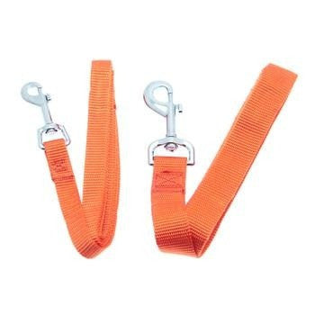 Barking Basics Dog Leash - Orange-Barking Basics-High Society Canine