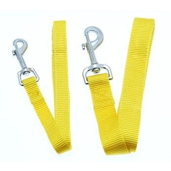 Barking Basics Dog Leash - Yellow-Barking Basics-High Society Canine