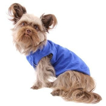 Barking Basics Dog Tank Shirt - Blue-Barking Basics-High Society Canine