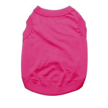 Barking Basics Dog Tank Shirt - Dark Pink-Barking Basics-High Society Canine