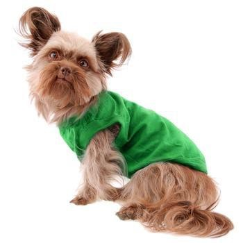 Barking Basics Dog Tank Shirt - Emerald Green-Barking Basics-High Society Canine