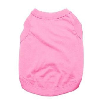 Barking Basics Dog Tank Shirt - Pink-Barking Basics-High Society Canine
