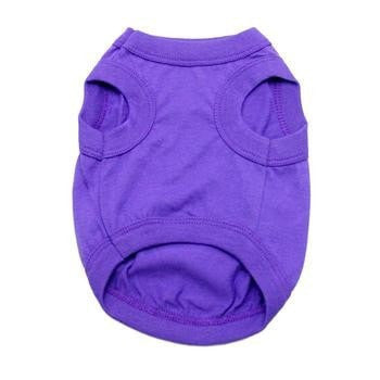 Barking Basics Dog Tank Shirt - Purple-Barking Basics-High Society Canine
