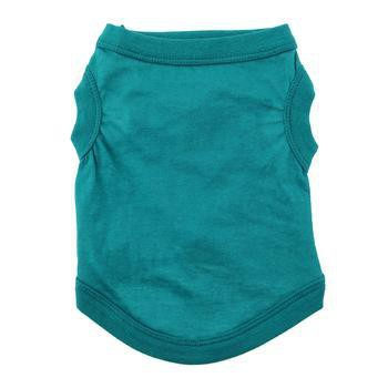 Barking Basics Dog Tank Shirt - Teal-Barking Basics-High Society Canine