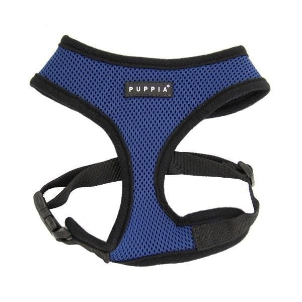 Basic Soft Harness by Puppia - Royal Blue-Puppia-High Society Canine