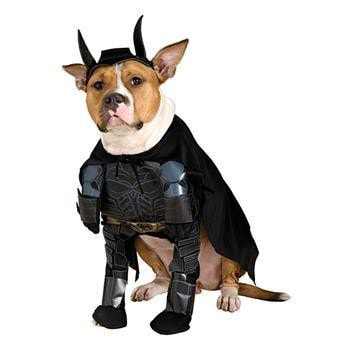 Batman The Dark Knight Dog Halloween Costume-Rubies Costumes-High Society Canine