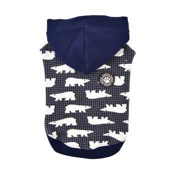 Beale Hooded Dog Shirt By Puppia - Navy-Puppia-High Society Canine