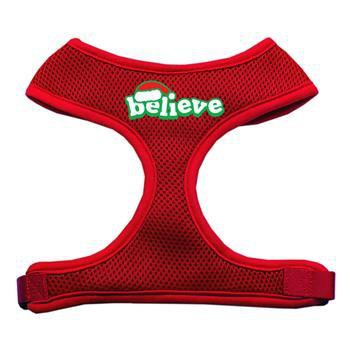 Believe Mesh Dog Harness - Red-Mirage-High Society Canine