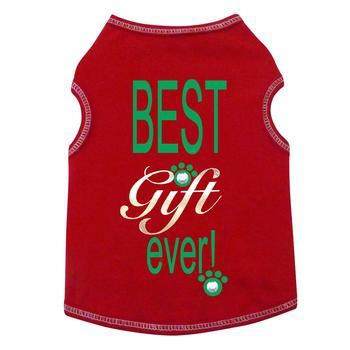 Best Gift Ever Dog Tank - Red-I See Spot-High Society Canine