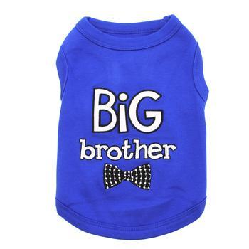 Big Brother Dog Tank by Parisian Pet - Blue-Parisian Pet-High Society Canine