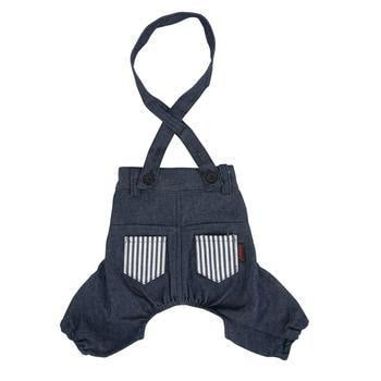Bobby Dog Suspender Pants by Puppia - Navy-Puppia-High Society Canine