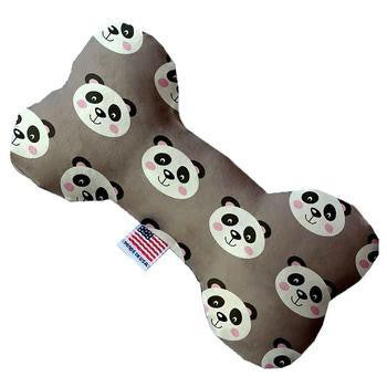Bone Dog Toy - Grey Pandas-Mirage-High Society Canine