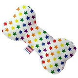 Bone Dog Toy - Rainbow Stars-Mirage-High Society Canine