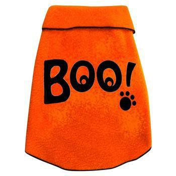Boo Eyes Dog Pullover - Orange-I See Spot-High Society Canine