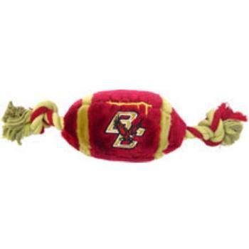 Boston College Eagles Plush Football Dog Toy-NCAA Dogs-High Society Canine