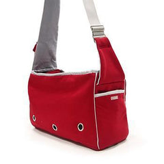 Boxy Messenger Bag Dog Carrier by Dogo - Red