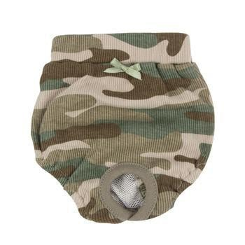 Brigadier Dog Sanitary Panty by Puppia - Camo-Puppia-High Society Canine